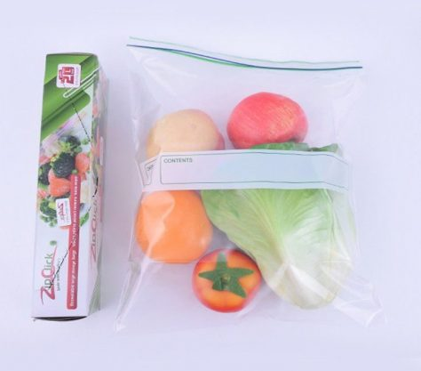 بسته بندی سبزیجات