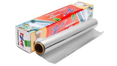 تصویر فویل آلومینیوم مصنوعی جایگزین فویل آلومینیوم