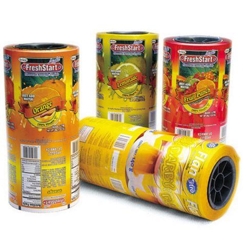 فیلم بسته بندی پلاستیکی - بسته بندی غذایی با انواع فیلم های پلاستیکی:تصاویر انواع فیلم