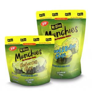 pickle pouches - 6 نوع از برترین های بسته بندی غذایی