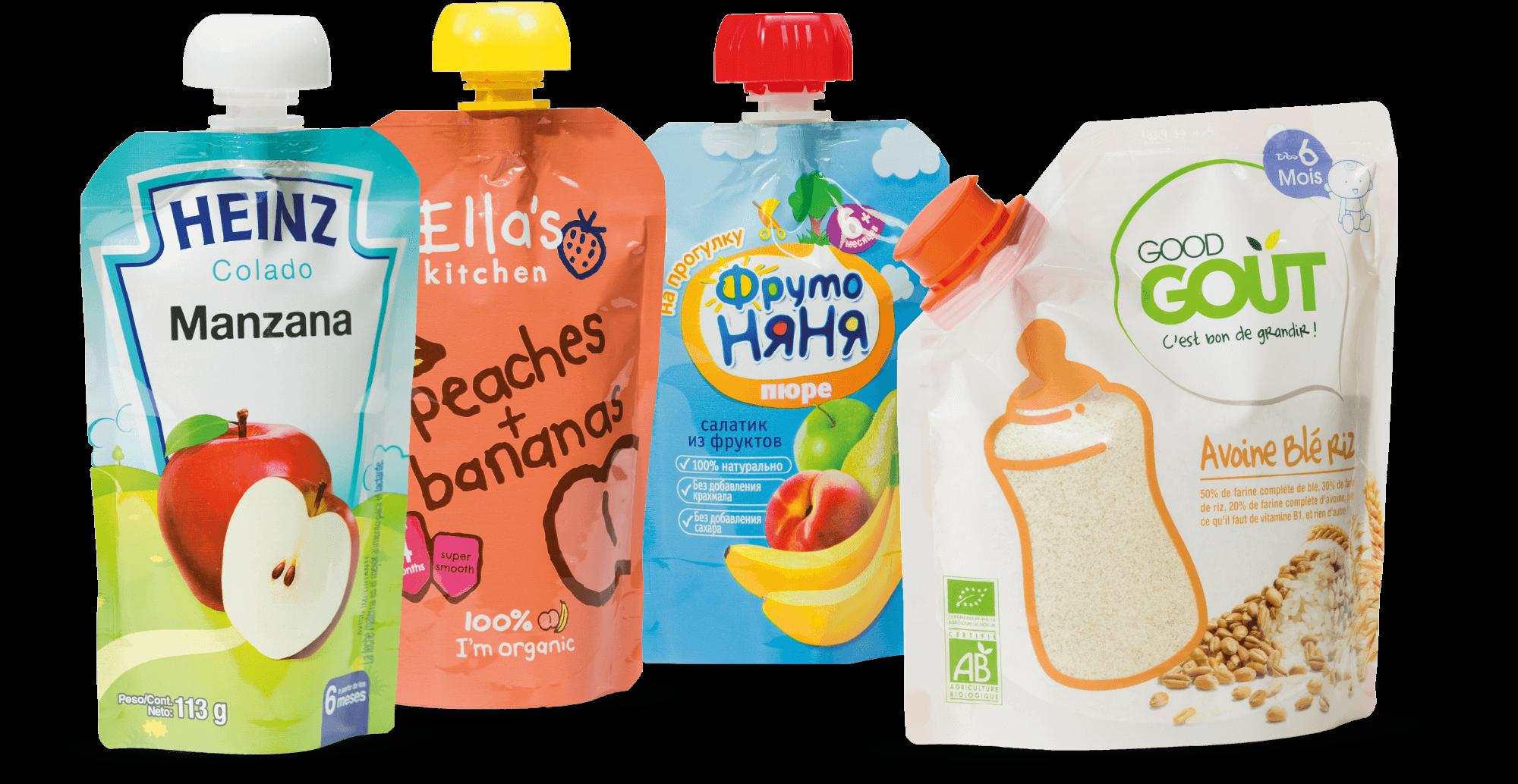 تصویر بسته بندی غذایی کودک : راحتی در کارایی