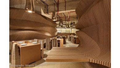 تصویر کافه مقوایی : یک کافه ۳ بعدی اعجاب انگیز