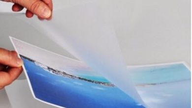 تصویر پوشش اکستروژن و لمینت روی مقوا و کارتن