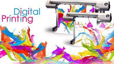 تصویر چاپ دیجیتال یا جوهر افشان در صنعت چاپ و بسته بندی