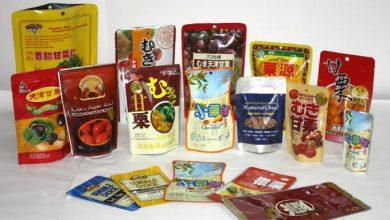 تصویر استاندارد بسته بندی پلاستیکی مواد غذایی