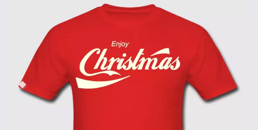 coca cola christmas - طراحی بسته بندی بواسطه تایپوگرافی