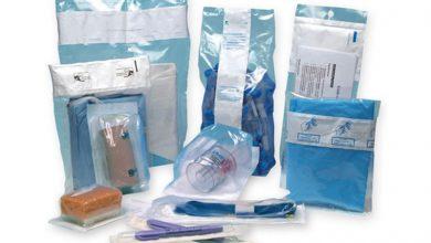 تصویر بسته بندی بهداشتی و دارویی با استفاده از پلاستیک