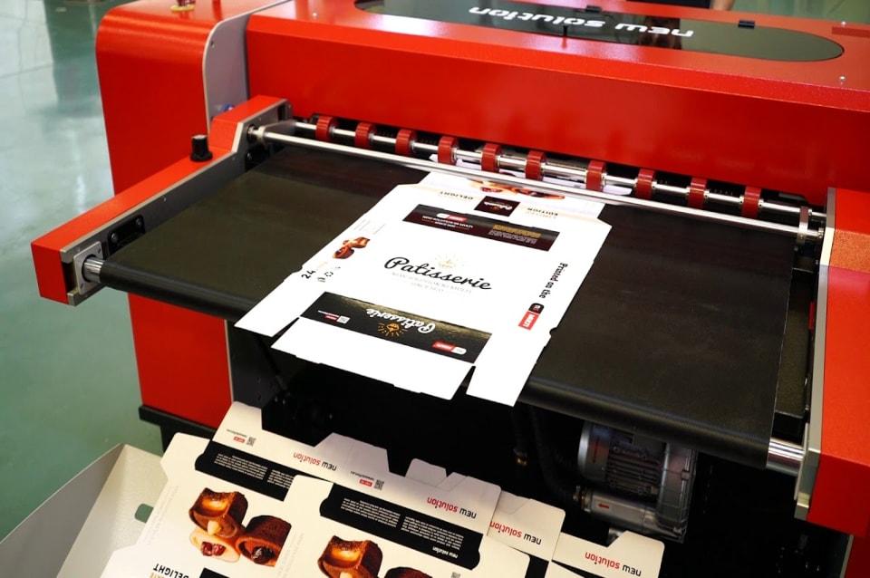 NS Multi LG digital printer for corrugated boards now shipping - انتخاب رنگ مناسب جهت چاپ بر روی بسته بندی های راه راه