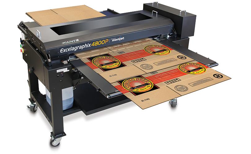 Xante EG4800 - آموزش چاپ روی بسته بندی های راه راه با چاپ فلکسو