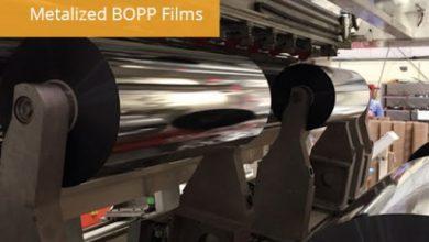 تصویر نحوه متالایز کردن فیلم bopp : فرآیند متالیزاسیون