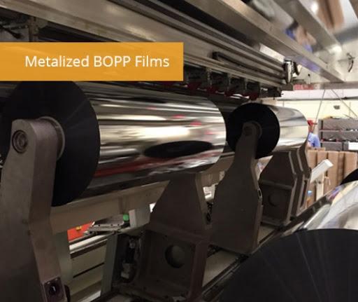 نحوه متالایز کردن فیلم bopp : فرآیند متالیزاسیون