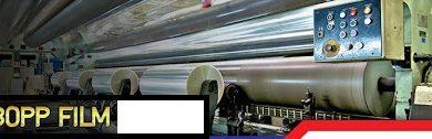 تصویر ۷ مرحله تولید فیلم bopp : ساخت پلی پروپیلن دو طرفه