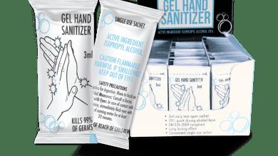 خدمات بسته بندی ساشه : بسته بندی دارویی - ژل ضد عفونی کننده
